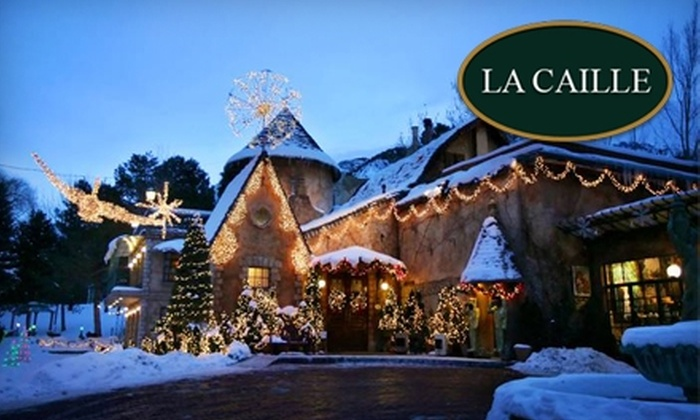 La Caille - Cottonwood: $35 for $70 Worth of French Fine Dining from the Dinner Menu or $12 for $25 Worth of Sunday Brunch or Basque Dinner at La Caille in Sandy
