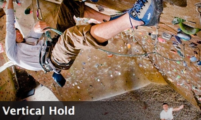 Vertical Hold Sport Climbing Center - Miramar: $30 for One Climbing Lesson and a One-Week Pass at Vertical Hold Sport Climbing Center (Up to $194 Value)