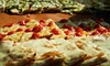 Pizza Roma - Manhattan: $15 for One Medium Pizza and Two Glasses of Wine at Pizza Roma (Up to $29.50 Value)