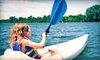 Wingra Canoe and Sailing - Vilas: Two-Hour Kayak Rental or One-Hour Standup Paddleboard Lesson at Wingra Boats (Up to 58% Off)