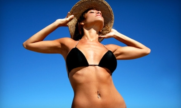 Tan Xpress - Aspen Park Village: $20 for an Airbrush Tan and Full-Body Moisturizing Treatment at Tan Xpress in Broken Arrow ($40 Value)