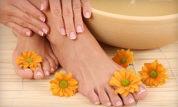 The Bonsai Holistic Spa - Largo: $30 for a Spa Mani-Pedi at The Bonsai Holistic Spa in Largo ($60 Value)