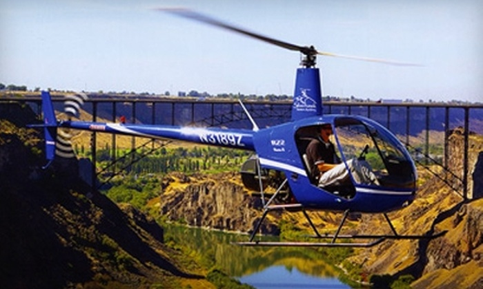 Silverhawk Aviation Academy - Caldwell: $99 for Helicopter Lesson for One or Helicopter Tour for up to Three at Silverhawk Aviation Academy (Up to $250 Value)