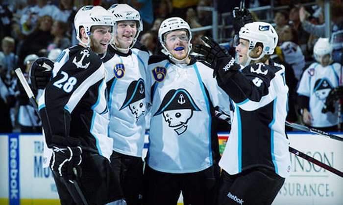 Milwaukee Admirals - Kilbourn Town: $19 for a Hockey Outing for Two to Milwaukee Admirals Game at Bradley Center (Up to $38 Value). Three Games Available.
