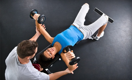 3 Personal-Training Sessions (a $150 value) - We Fit Gym in Long Beach