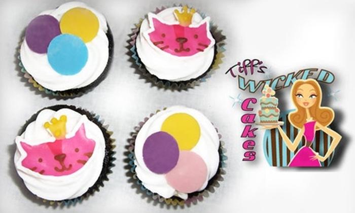 Tiff's Wicked Cakes - West Warwick: $10 for a Dozen Cupcakes with Filling at Tiff's Wicked Cakes in West Warwick