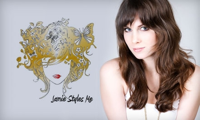 Jamie Styles Me Salon - Wichita: $10 for $40 Worth of Hair, Nail, and Makeup Services and More at Jamie Styles Me Salon