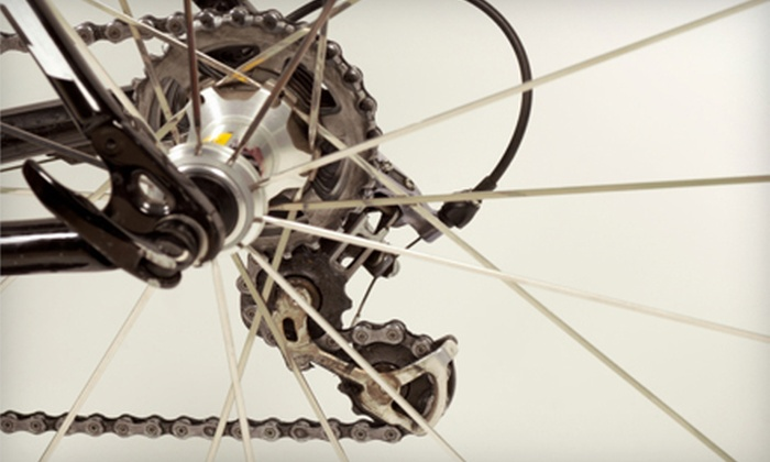 Mike's Bikes - Multiple Locations: $42 for a 12-Point Bicycle Tune-Up at Mike's Bikes ($85 Value)