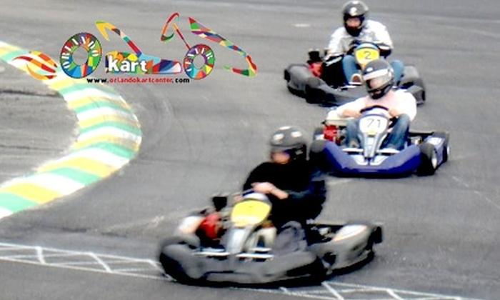 Orlando Kart Center - Orlando: $10 for 10-Minute Go-Kart Racing Session & Time Printout at Orlando Kart Center ($25 Value)