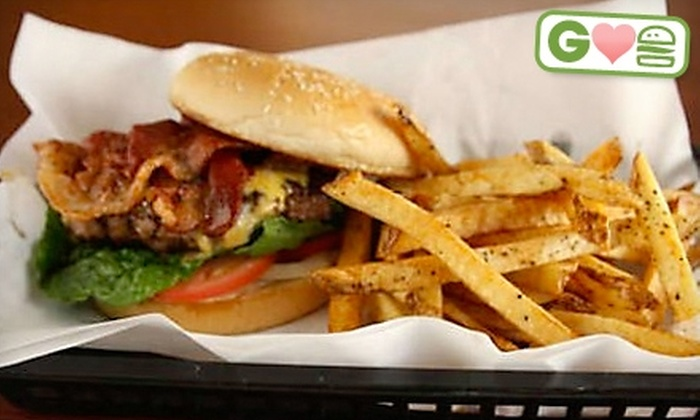 Bacon & Friends - Mesquite: $5 for $10 Worth of Burgers and Soft Drinks at Bacon & Friends in Mesquite