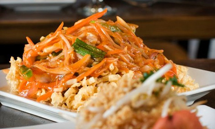 China Spice - Journal Square: Three-Course Dinner for Two or Four, or $25 for $50 Worth of Catering at China Spice in Jersey City