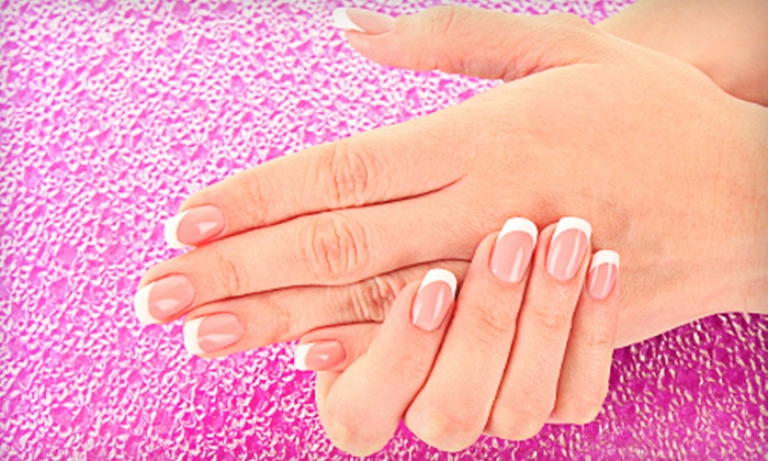 Mimosa Nails & Spa - Chino: Hot-Stone Mani-Pedi or Gel Manicure or Acrylic Nail Fill with Gel Polish at Mimosa Nails & Spa in Chino (Up to 51% Off)
