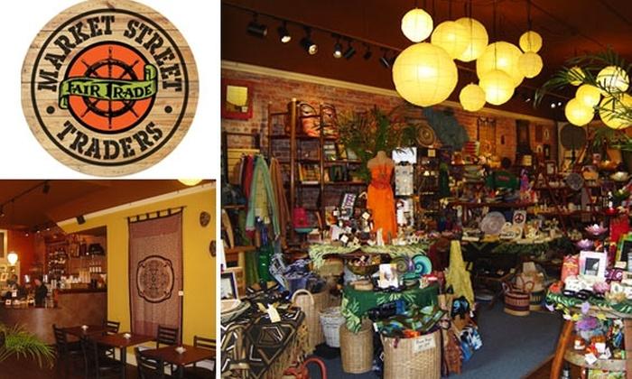 Market Street Traders - Adams: 57% Off at Market Street Traders Fair Trade Retail Store & Cafe