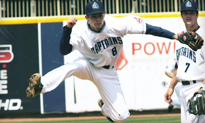 Lake County Captains - Eastlake: $19 for a Ticket Package for Two to Lake County Captains Baseball Game (Up to $42 Value). Seven Games Available.
