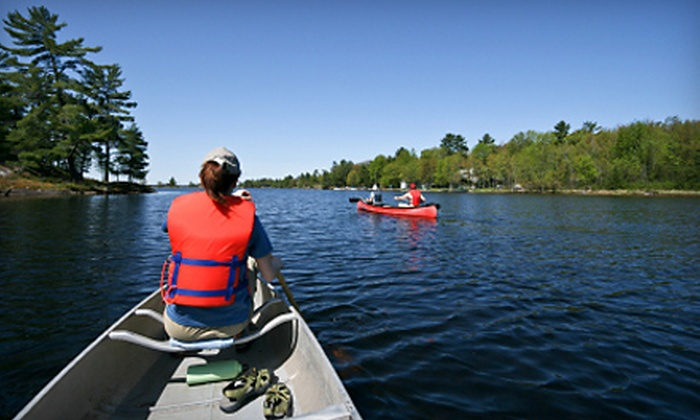 Blue Mountain Lake Boat Livery - Blue Mountain Lake: All-Day or Overnight Canoe Rental at Blue Mountain Lake Boat Livery