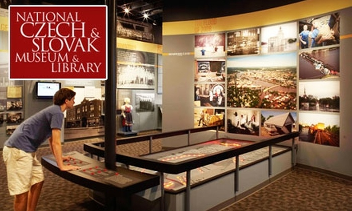 National Czech & Slovak Museum & Library - Southwest Area: $3 for One Adult or Senior Admission to the National Czech & Slovak Museum & Library (Up to $6 Value)