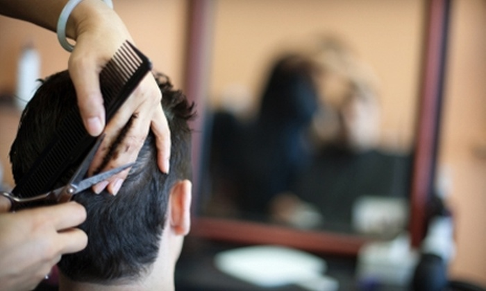 Knockouts Haircuts for Men - Multiple Locations: $12 for Top Contender Heavyweight Haircut at Knockouts Haircuts for Men ($25 Value)