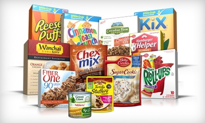 General Mills - Argonne Village: $20 for a General Mills Sampler Pack, Coupon Book, and Shipping (Up to $40 Value)