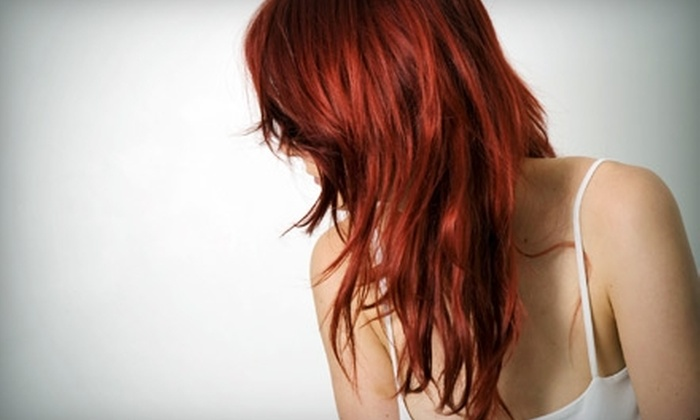 Joseph's Coiffures - Vaughan: $33 for a Wash, Cut, Scalp Massage, and Style at Joseph's Coiffures in Vaughan ($67.80 Value)