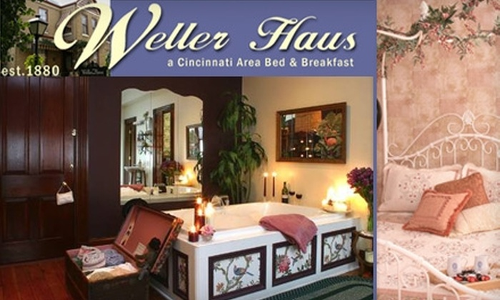 Weller Haus B&B - Bellevue: $99 for a One-Night Stay and Chocolate-Covered-Strawberry Package at The Weller Haus Bed and Breakfast (Up to $238 Value)