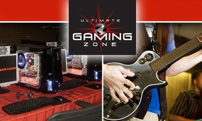 Ultimate Gaming Zone - Gaithersburg: $12 for 3 Hours of Gaming and Snacks at Ultimate Gaming Zone
