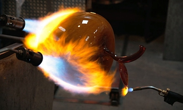 Seattle Glassblowing Studio - Belltown: $195 For Private Glass-Blowing Class for One or Two People at Seattle Glassblowing Studio ($395 Value)