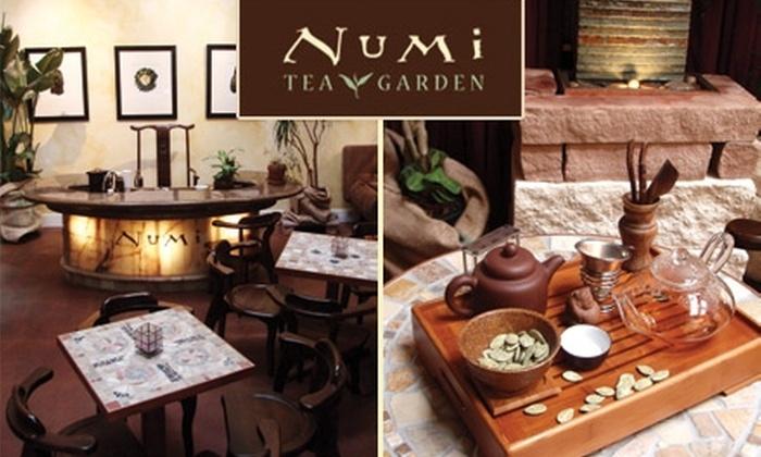 Numi Tea Garden - East Peralta: $15 for $30 Worth of Retail Tea Products at Numi Tea Garden