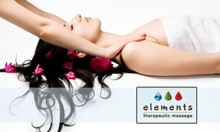 Elements Therapeutic Massage - Londontowne: $35 for One of Five 55-Minute Massages at Elements Therapeutic Massage ($79 Value)