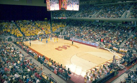 USC Trojans Men's Basketball vs. Washington State Cougars on Sat., Mar. 3 at 3PM: Tier 1 Seating for 1 - USC Trojans Men's Basketball in Los Angeles