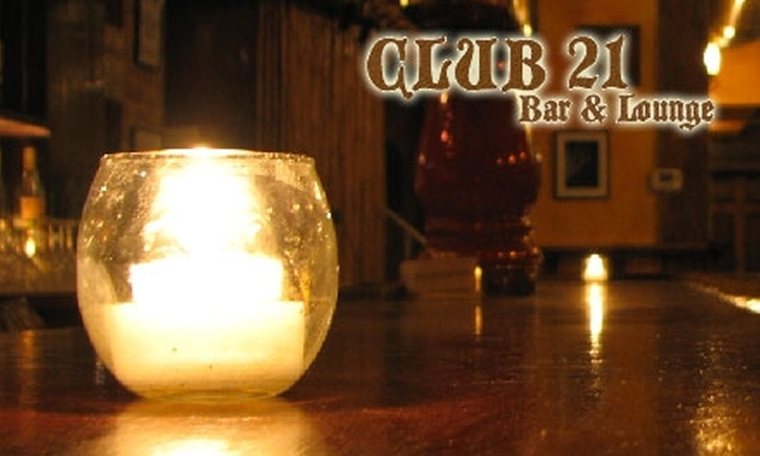 Club 21 - Astoria: $12 for $25 Worth of Eastern European Fare and Drinks at Club 21