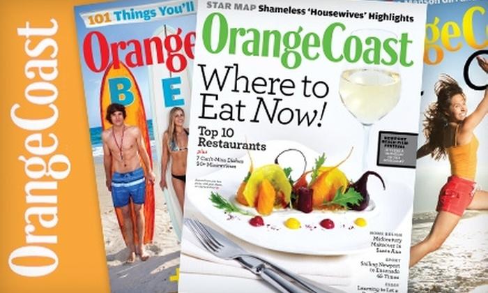 """""""Orange Coast"""" Magazine - Downtown Fullerton: $6 for a One-Year Subscription to """"Orange Coast"""" Magazine ($12 Value)"""