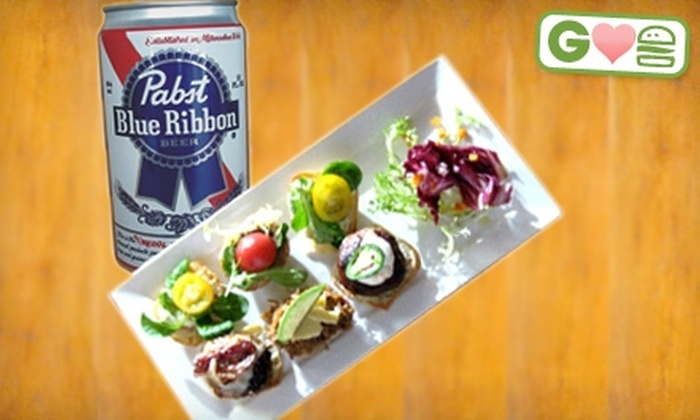 APK Live - Central London: $15 for Two Orders of Sliders and Two Beers at APK Live ($34.50 Value)