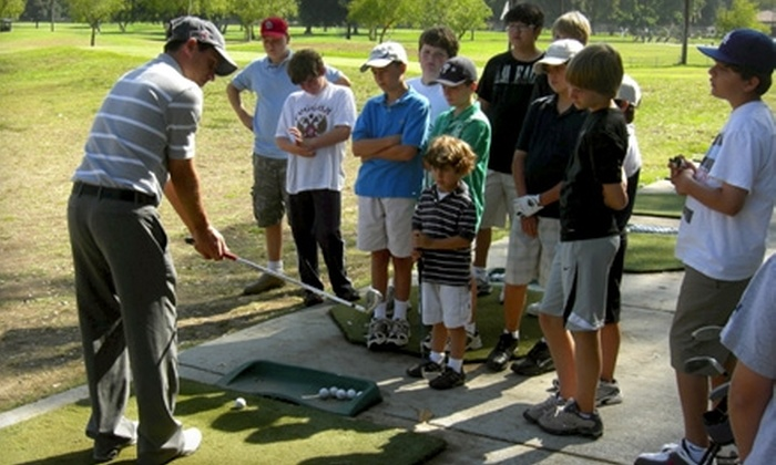 Fore Kids Golf Academy - North Arroyo: $95 for a Five-Day Kids' Golf Camp at Fore Kids Golf Academy in Pasadena ($195 Value)