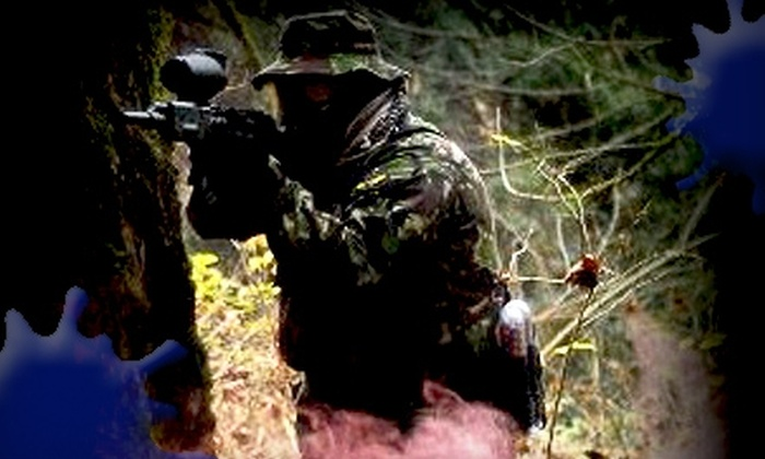 Panther Paintball - Vancouver: $17 for Admission, 100 Paintball Rounds, and Equipment Rental at Panther Paintball in Surrey (Up to $35 Value)