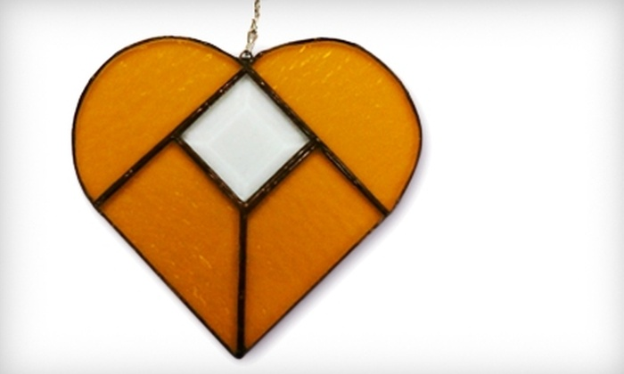 Ed's Emporium Stained Glass Studio - Bossier City: $35 for Introductory Workshop at Ed's Emporium Stained Glass Studio ($75 Value)