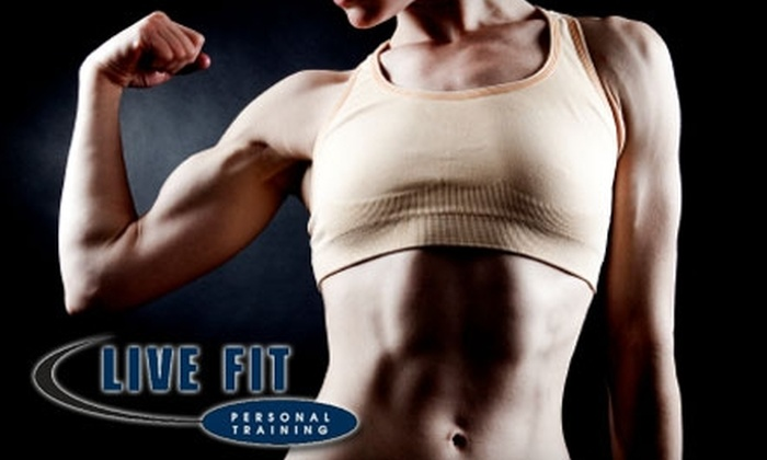 Live Fit Personal Training - Westlake: $39 For Three Personal Training Sessions With Live Fit Personal Training ($120 Value)