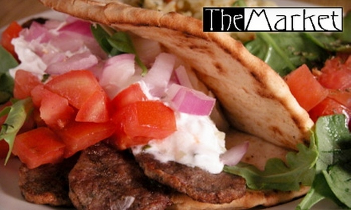 The Market - Kettering: $5 for a Gyro Kit at The Market ($9.99 Value)