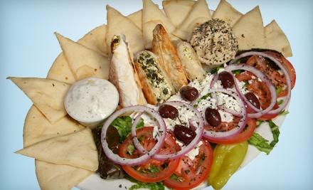 Greek or Italian Dinner for 2 - Bucci's Greek & Italian Specialties in Centennial