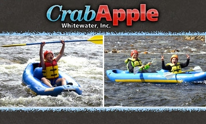Crab Apple Whitewater - Charlemont: $25 for a Three-Hour Funyak Whitewater Trip with Crab Apple Whitewater (Up to $44 Value)