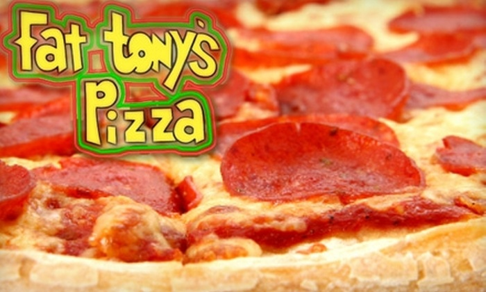 Fat Tony's Pizza - North Clairemont: $10 for $25 Worth of Pizza and More at Fat Tony's Pizza