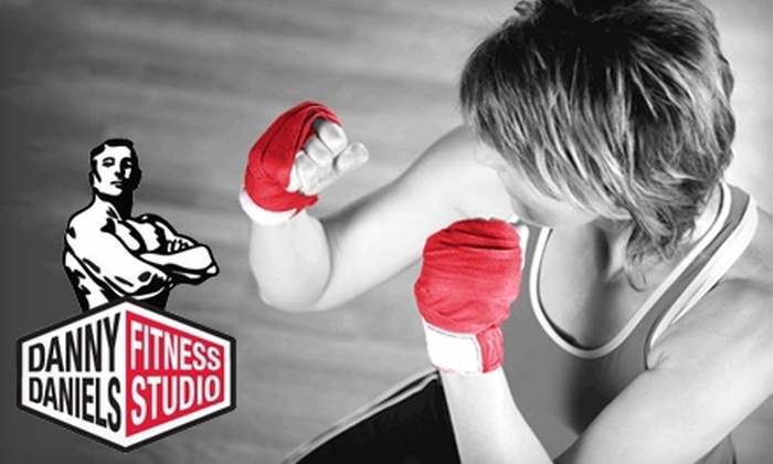 Danny Daniels Fitness Studio - Brightleaf: $35 for Five Kickboxing Classes at Danny Daniels Fitness Studio in Durham ($75 Value)