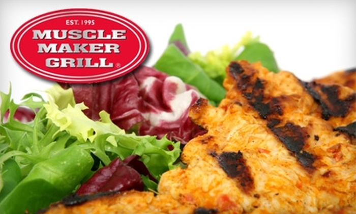 Muscle Maker Grill - Throgs Neck - Edgewater Park: $7 for $15 Worth of Healthy Fare at Muscle Maker Grill in the Bronx