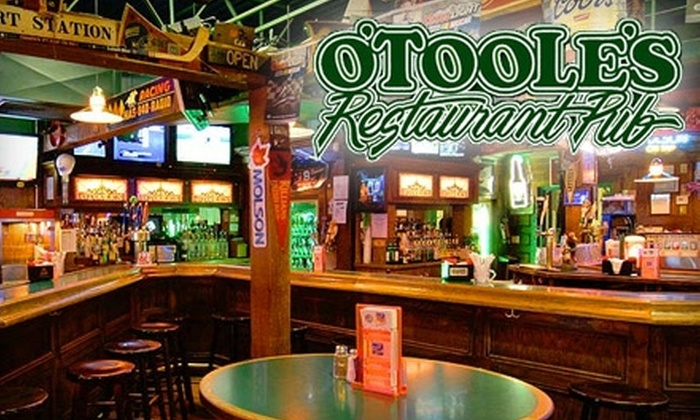 O'Toole's Restaurant Pub - Colonie: $7 for $15 Worth of Pub Grub at O'Toole's Restaurant Pub