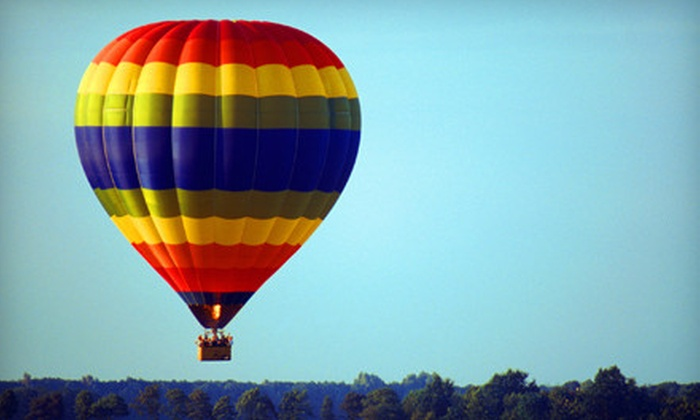 Sundance Balloons - Regina: Hot Air Balloon Ride on a Weekday Morning, Weekday Evening, or Anytime from Sundance Balloons (Up to 51% Off)