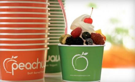 $14 Groupon to Peachwave Yogurt - Peachwave Yogurt in Sioux Falls