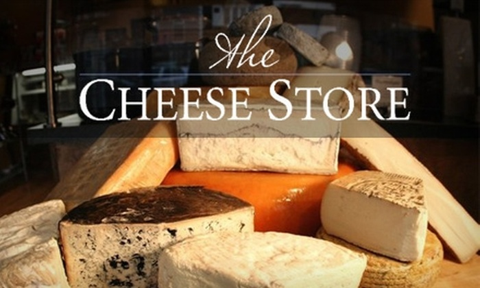 The Cheese Store - Hoboken: $7 for $15 Worth of Gourmet Cheese, Sandwiches, and Deli Extras at The Cheese Store