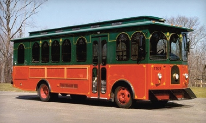 Lenzner Coach Lines - Pittsburgh: Two Admissions to a Neighborhood Trolley Tour from Lenzner Coach Lines. Two Options Available.