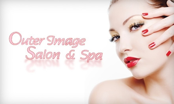 Outer Image Salon & Spa - Plainfield: Facial, Nail, and Hair Services at Outer Image Salon & Spa on Plainfield Avenue. Choose from Three Options.