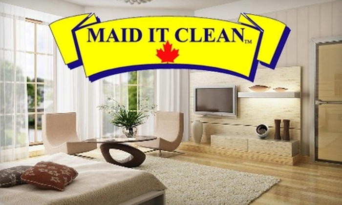 Maid It Clean - Burlington: $75 for a Two-Person, Two-Hour House Cleaning from Maid It Clean ($158 Value)