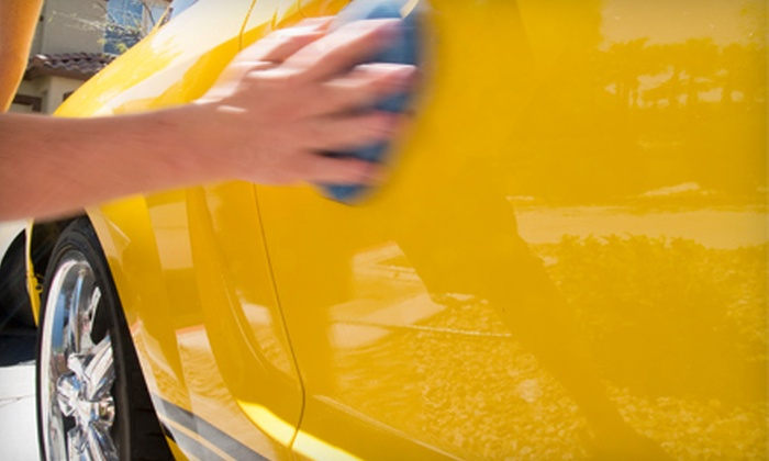 H2O Carwash - Multiple Locations: Car Wash or Detail at H20 Carwash (Up to 54% Off). Three Locations Available.